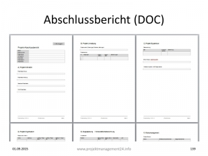Abschlussbericht Projekt