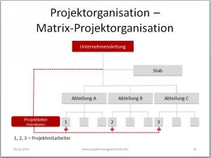 Matrix-Projektorganisation