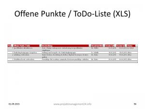 ToDo-Liste in Excel